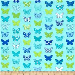 Moda Brighten Up! Flutter Up Aqua