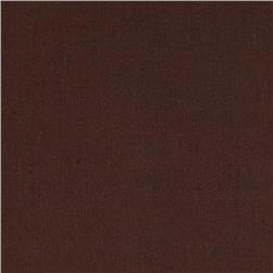Cotton Broadcloth Cola Brown