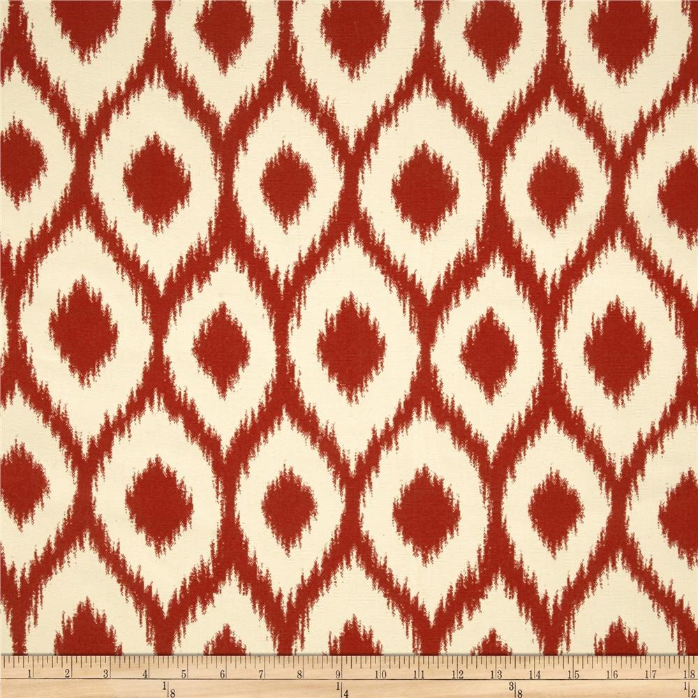 Bella Dura Eco-Friendly Indoor/Outdoor Shavali Jacquard Red