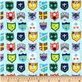 Meet The Royal Court Royal Crests Light Blue