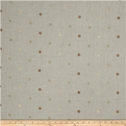 Fabricut Hollander Dot Linen Blend Sand