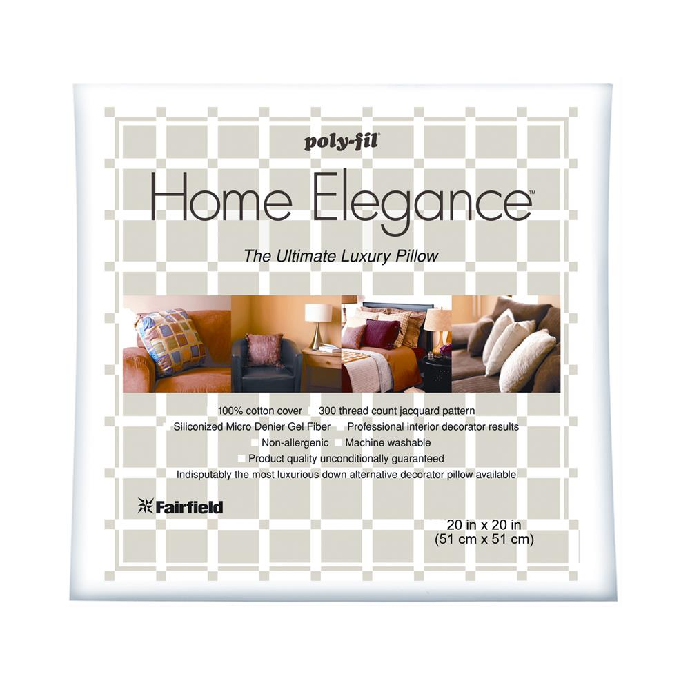 "Fairfield Home Elegance  Pillow 20"" Square"