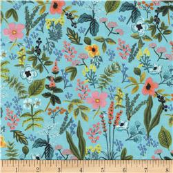 Cotton + Steel Rifle Paper Co Amalfi Herb Garden Mint