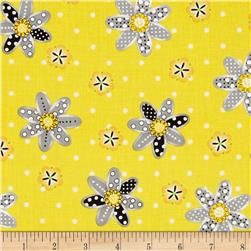 Sundance Daisy Yellow/Grey