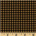 North By Northwest Flannel Great Scotts Houndstooth Gold