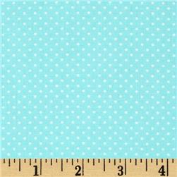 Timeless Treasures Mini Polka Dots Mint
