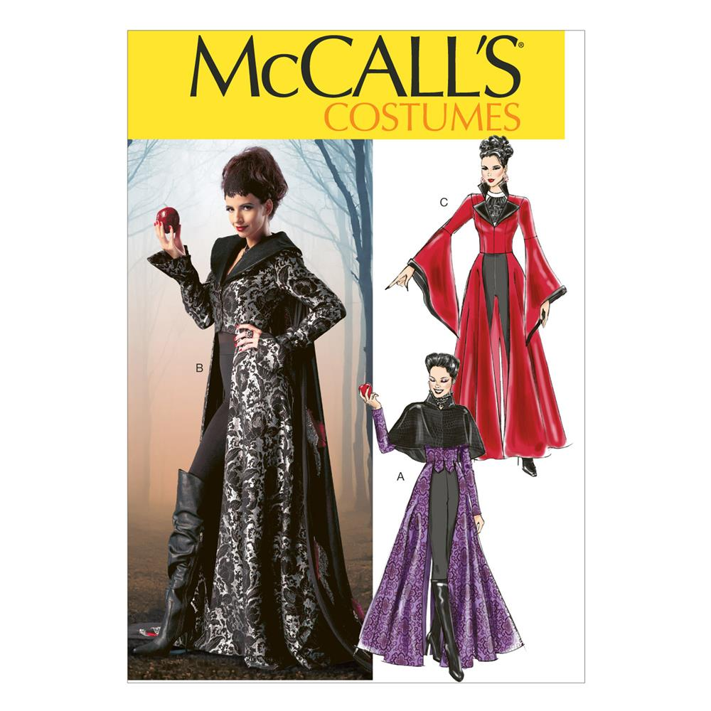 McCall's Misses' Costumes Pattern M6818 Size AX5