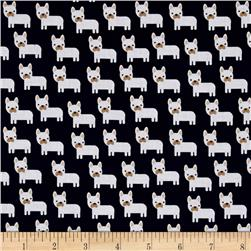 Kaufman Urban Zoology Minis Little Dogs Navy