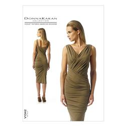 Vogue Misses' Dress Pattern V1342 Size AX5