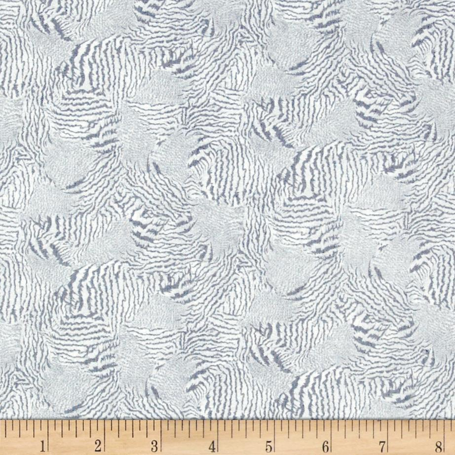 Rooster Royale Crazy Quilt Grey