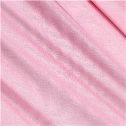 Rayon Spandex Jersey Knit Solid Sweet Pink