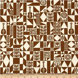 Birch Organic Ipanema Samba Geo Brown