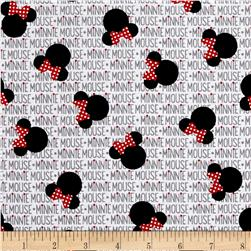 Disney Minnie Rock the Dots Heads and Bows White