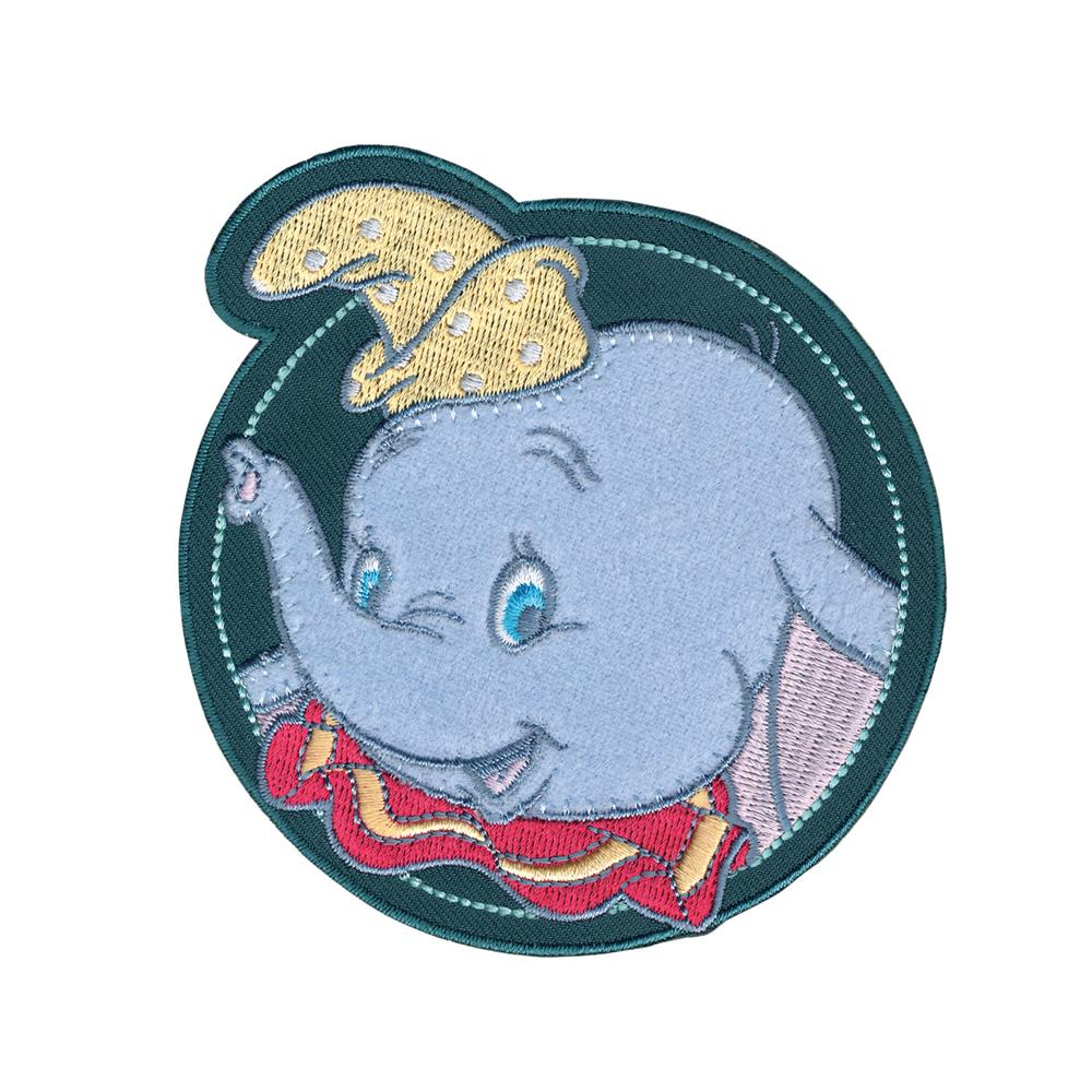 Disney Dumbo Iron On Applique Dumbo In Circle