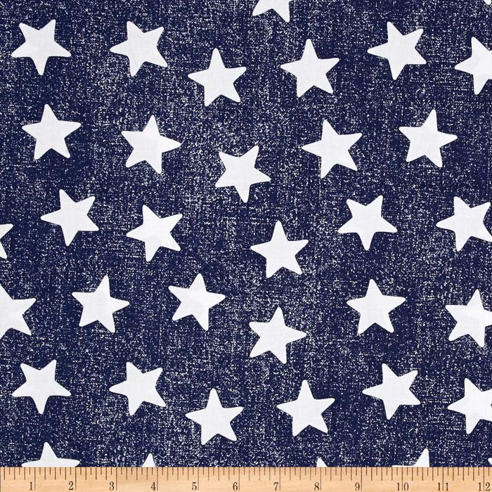 michael miller star struck navy discount designer fabric