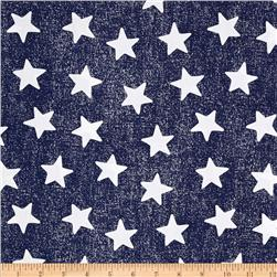 Michael Miller Star Struck Navy Fabric