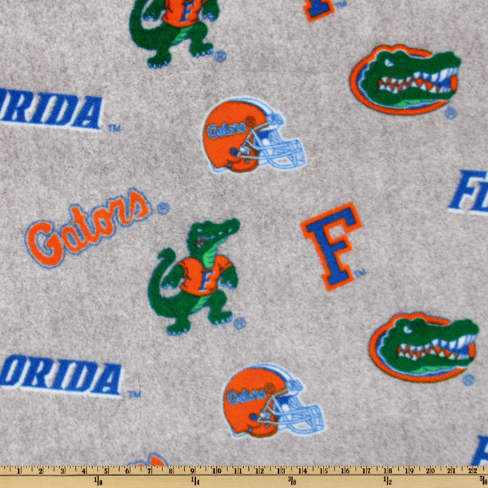 Collegiate Fleece University Of Florida All Over Heather