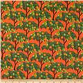 Kanvas Sew Rousseau Orange Trees Orange