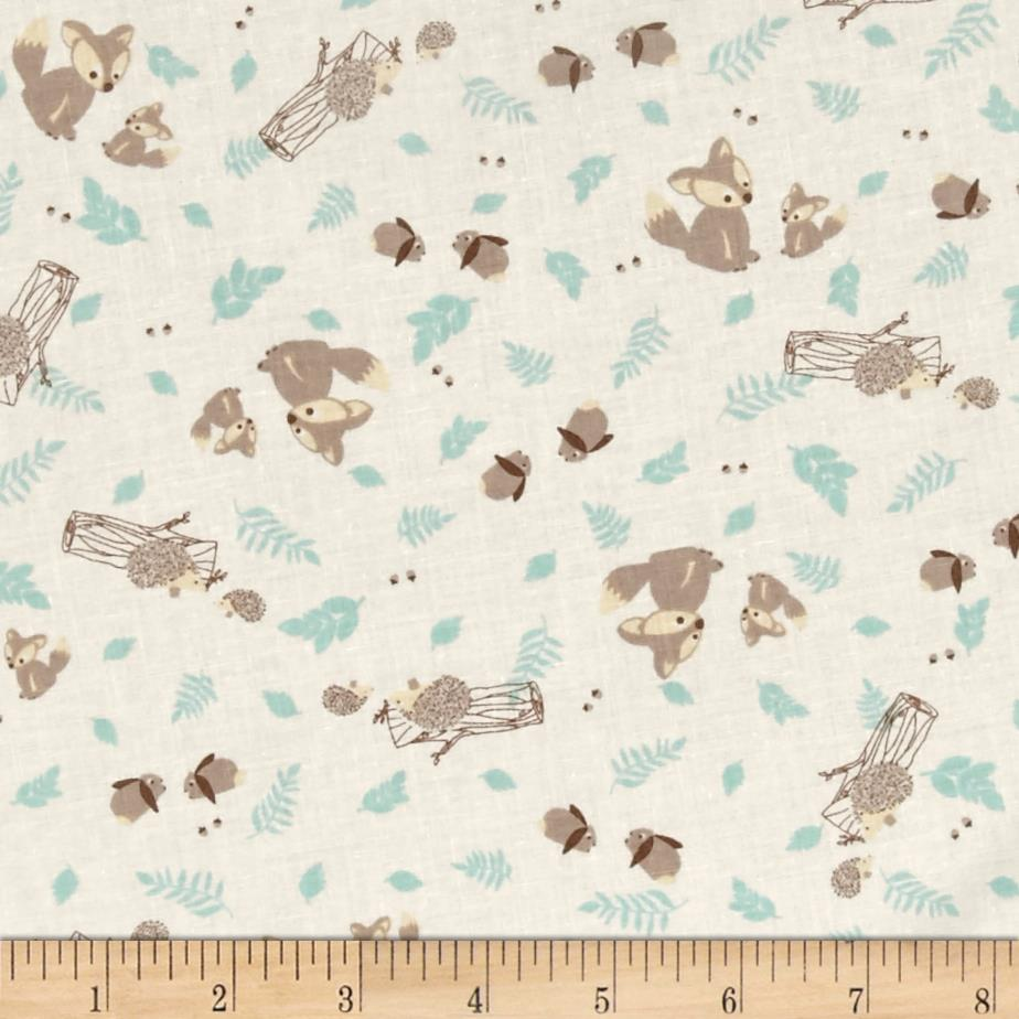 Moda Lullaby Woodland Critters Cloud