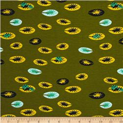 Birch Organic Swan Lake Interlock Knit Frog Pad Moss