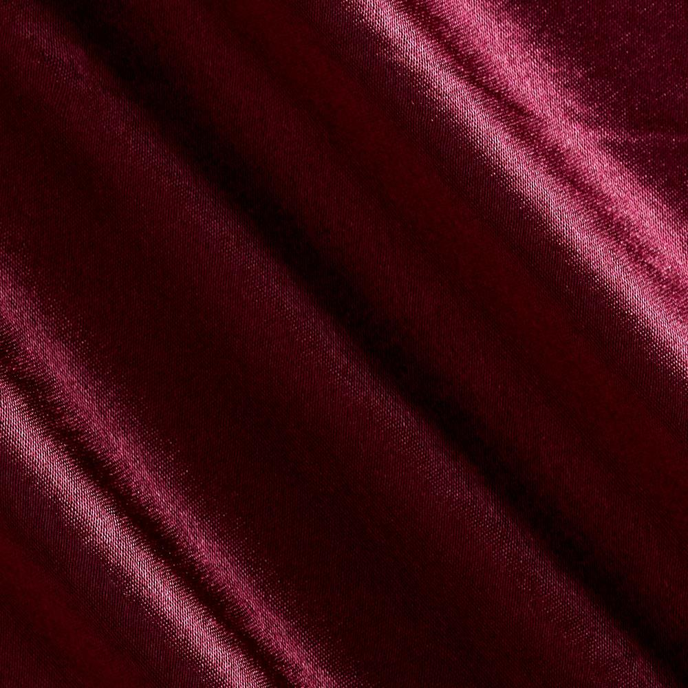 Reversible Crepe Back Satin Burgundy