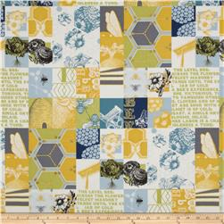 Moda Bee My Honey Garden Patch Honey Gold