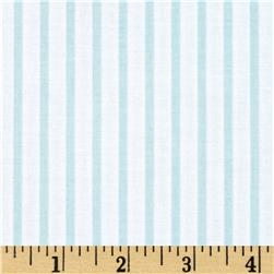 Riley Blake Wonderland Stripe Blue