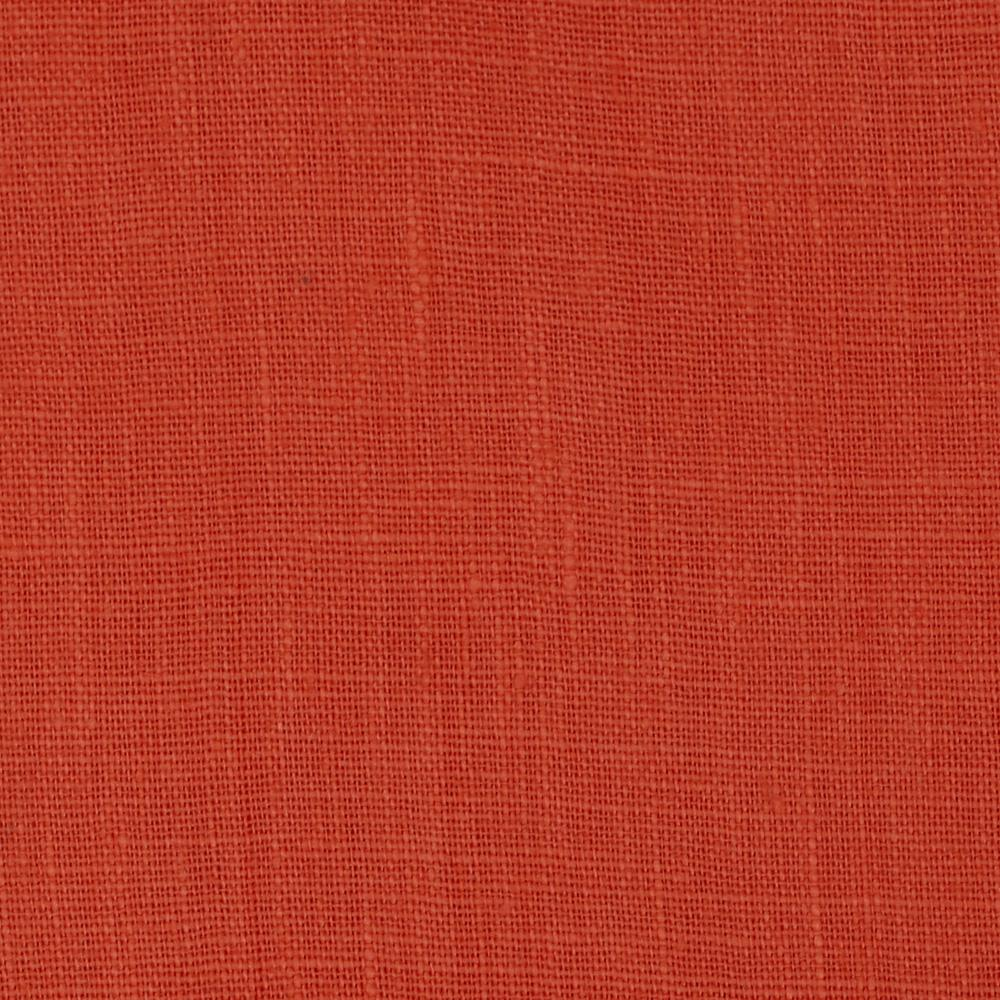 European 100% Linen Majestic Orange