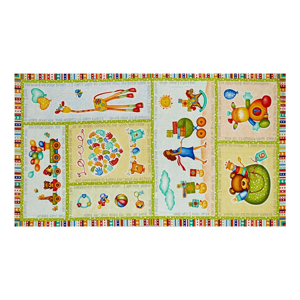 Children 39 s panels discount designer fabric for Wholesale childrens fabric