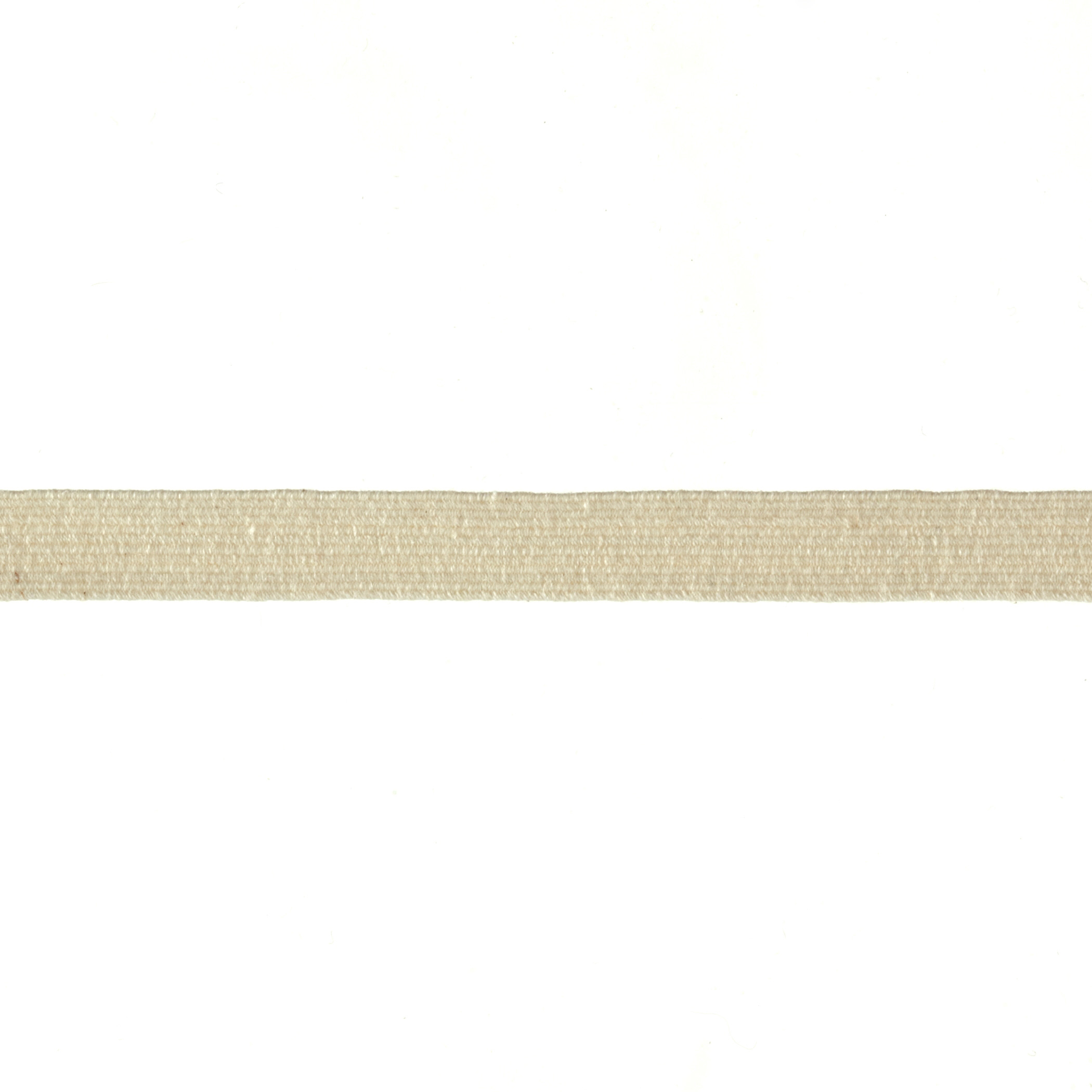 3/8'' Cotton Swimwear Elastic Natural - By the