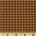 Whitetail Ridge Houndstooth Brown