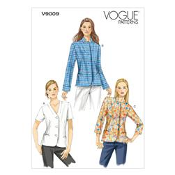Vogue Misses' Jacket Pattern V9009 Size A50