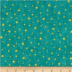Hangin' Out Stars Teal