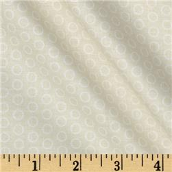 Riley Blake Circle Dot Cream