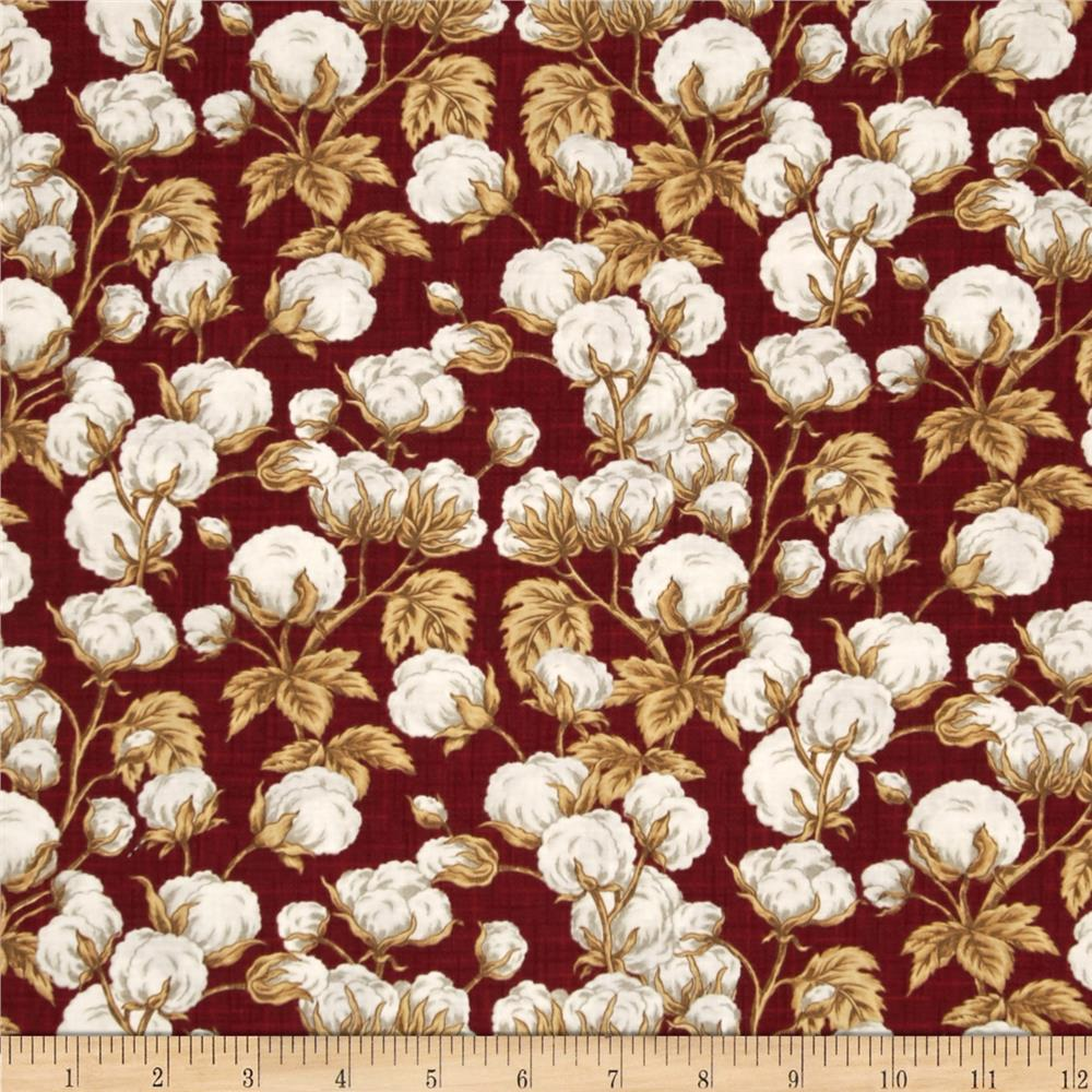 The Cotton King Cotton Plant Red