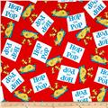 Kaufman Dr Seuss Hop On Pop Words Red