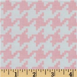 Michael Miller Everyday Houndstooth Blush