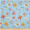 Tiddlywinks Butterflies Blue