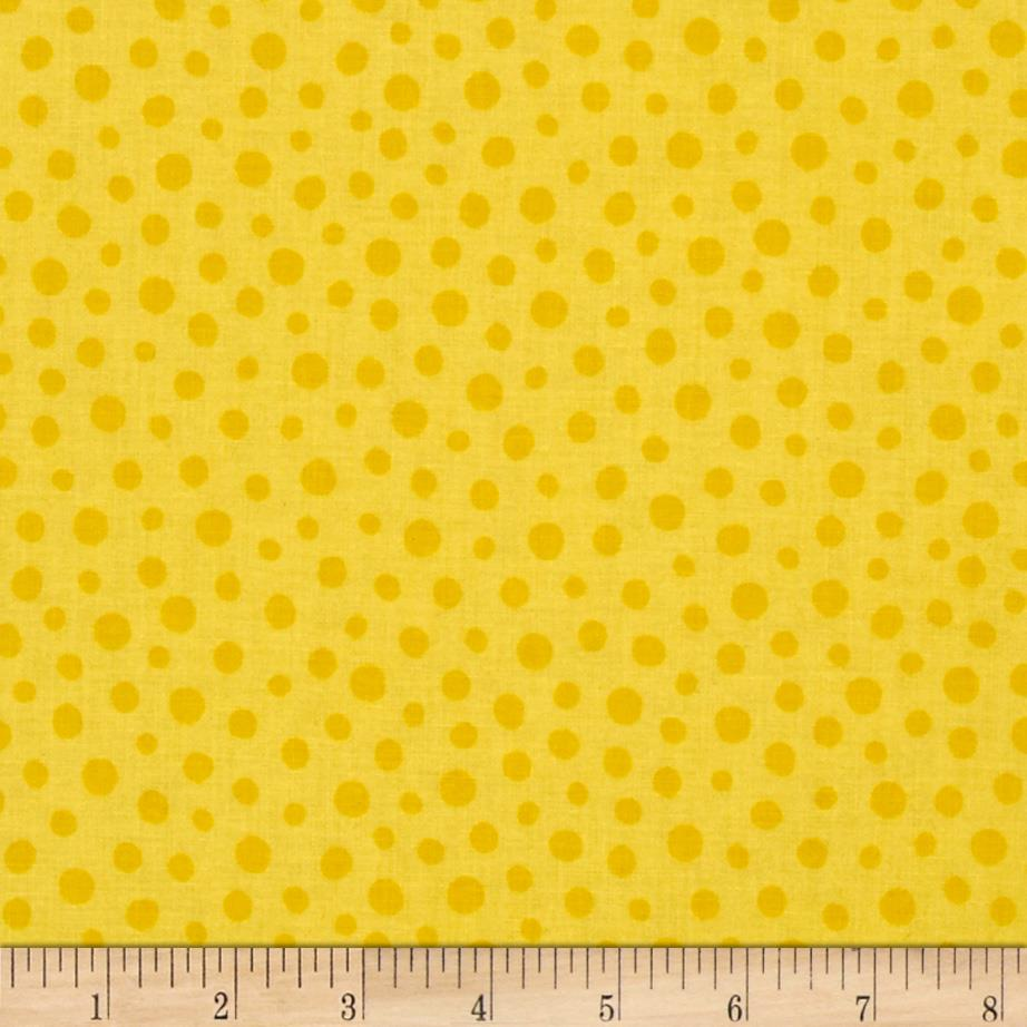 Sunburst Contempo Dots Tonal Yellow