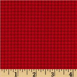 A Year of Love Houndstooth Red