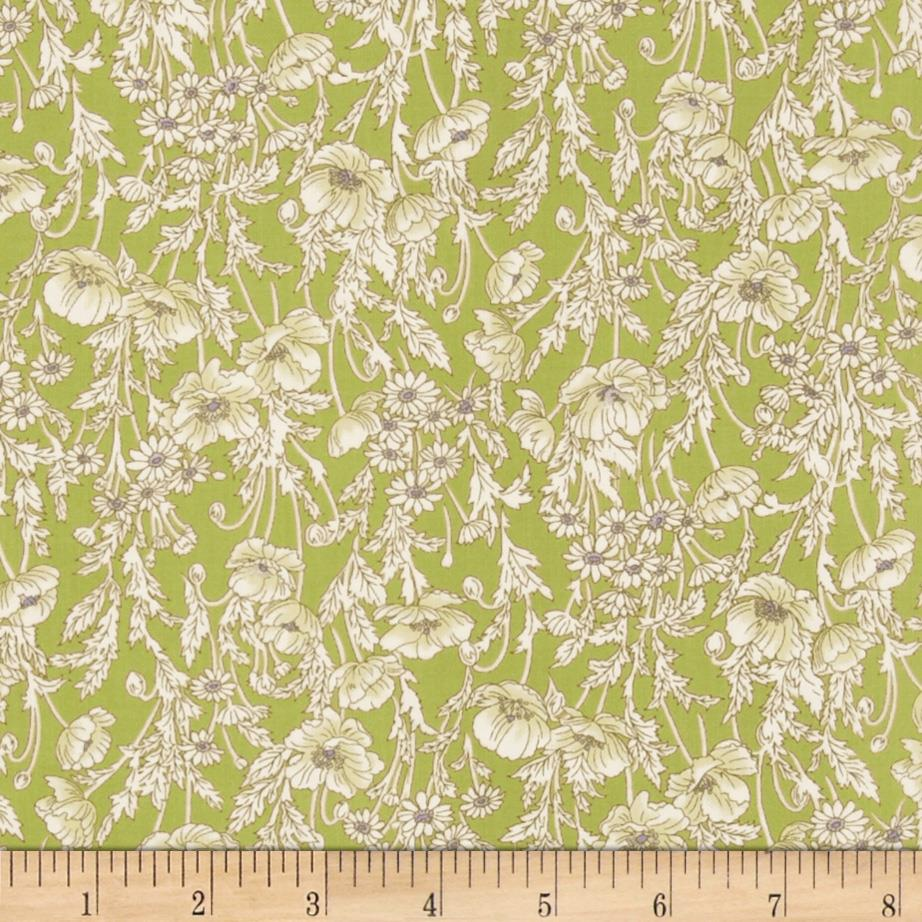 Watercolor Garden Floral Breeze Willow