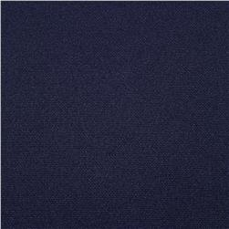 Pon Te Am Scuba Knit Navy Fabric