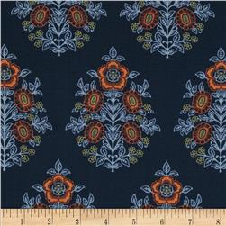 Joel Dewberry Botanique Provincial Deep Fabric