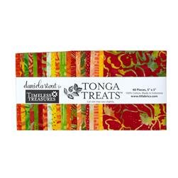 Timeless Treasures Tonga Batik Sunburst 5 In. Squares