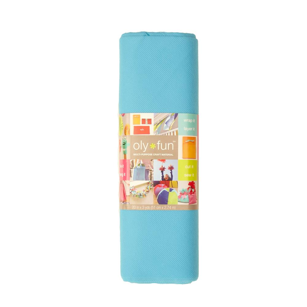 OLYFUN Multi Purpose Craft Fabric Sky Blue