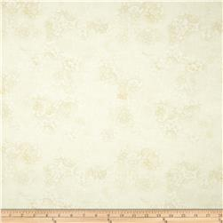 Timeless Treasures Indian Summer Allover Lace Cream