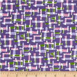 Downtown Grid Purple