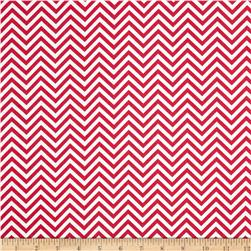 Remix Zig Zag Hot Pink Fabric