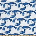 Michael Miller Shore Thing Lobster Pot Blue
