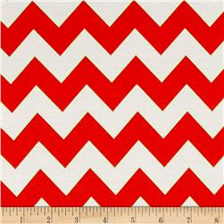 Ponte de Roma Zig Zag Fire Orange/White